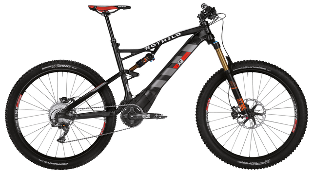 Rotwild Mountainbike - All-Mountain R.X+ FS 27.5 E-MTB - EVO (2016)