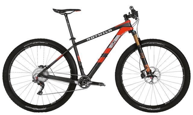 Rotwild Mountainbike - Race R.R2 HT 29 - Performance mit Shimano XTR (2016)