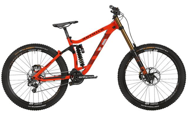 Rotwild Mountainbike - Freeride R.G1 FS 27.5 - GRAVITY (2016)