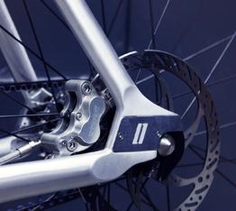 Neu 2016, die im hinteren Rahmendreieck dezent integrierte Scheiben-Bremse., Beispielbilder, ggf. teilweise mit Sonderausstattung