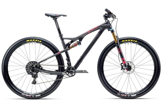 YETI ASRc Crosscountry-Mountainbike - BETI mit SRAM X01