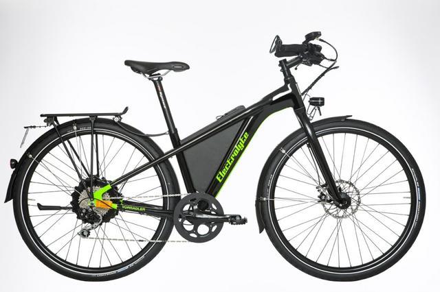 Electrolyte Vorradler - S3 E PLUS – Speed-Pedelec mit City Kit schwarz/grün Testrad statt UVP von 4999 € jetzt nur ...