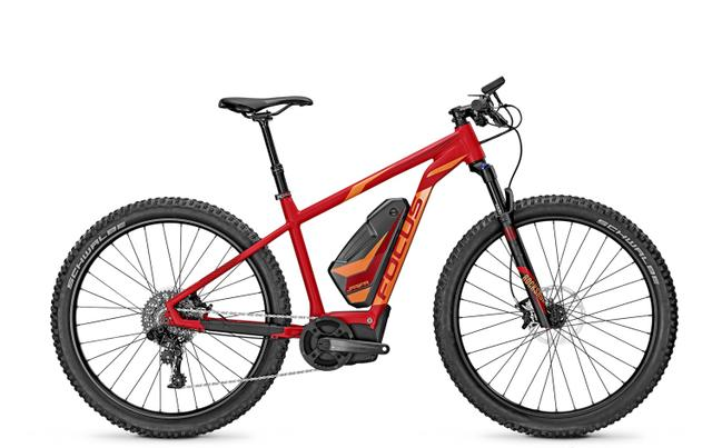 FOCUS E-Bike Sport Jarifa Fat - PRO (2016)