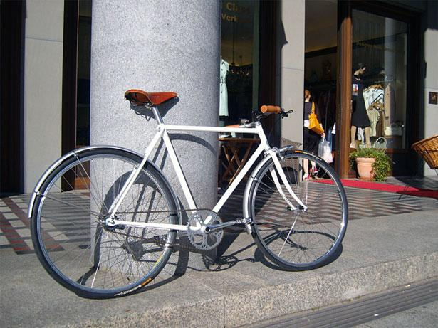 Bella Ciao Ingegnere - Singlespeed das besondere Stahlrahmen Fahrrad ...