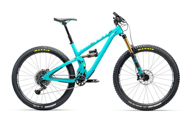 YETI SB5.5 Trail-Mountainbike - mit SRAM X01 Eagle (2017)