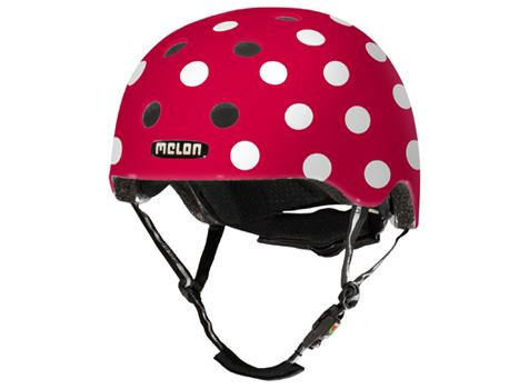 Melon Urban Active Collection - Helm Dolly White Größe M-L (52-58 cm)