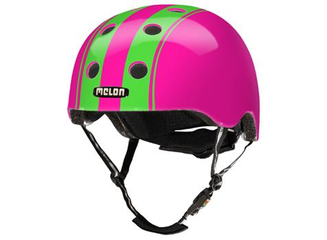Melon Urban Active Collection - Helm Double Green Pink Größe XL-XXL (58-63 cm)