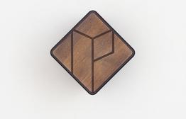 Parax Wandhalter Holzfront Kebony, Beispielbilder, ggf. teilweise mit Sonderausstattung