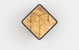 Parax Wandhalter Holzfront Olive, Beispielbilder, ggf. teilweise mit Sonderausstattung
