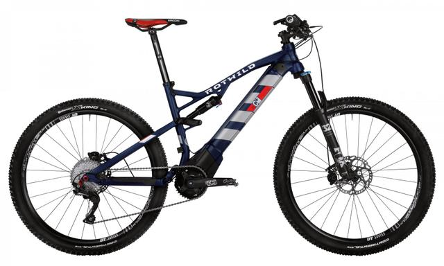 Rotwild Mountainbike - Cross-Country R.C+ FS 27.5 E-MTB - COMP (2017)