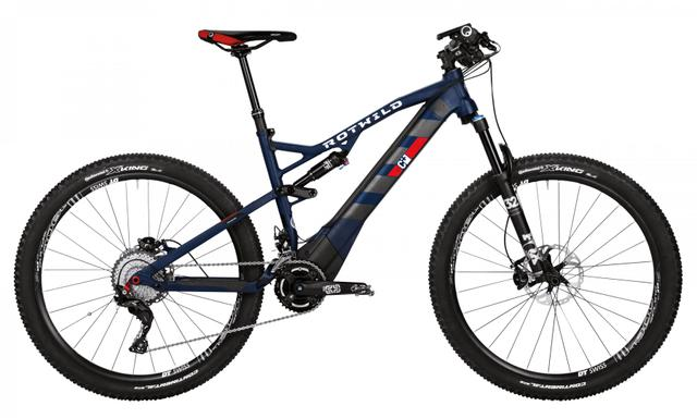 Rotwild Mountainbike - Cross-Country R.C+ FS 27.5 E-MTB - PRO (2017)