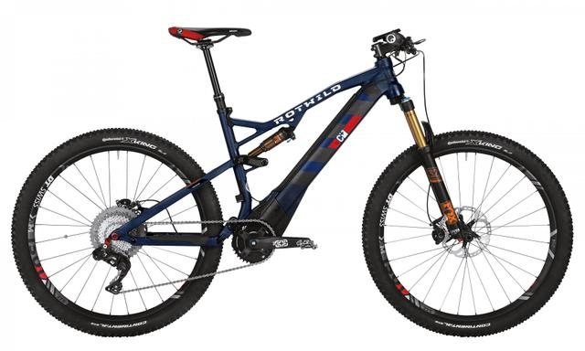 Rotwild Mountainbike - Cross-Country R.C+ FS 27.5 E-MTB - EVO (2017)