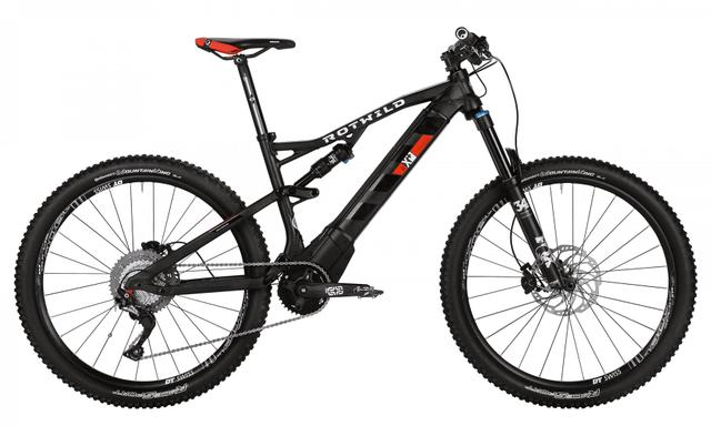 Rotwild Mountainbike - All-Mountain R.X+ FS 27.5 E-MTB - COMP (2017)