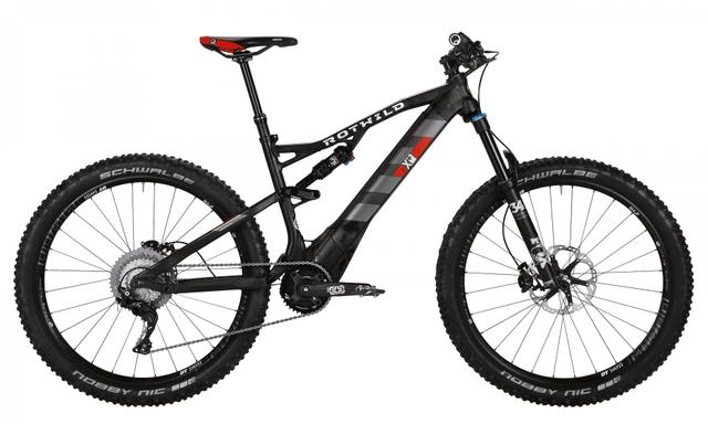 Rotwild Mountainbike - All-Mountain R.X+ FS 27.5 E-MTB - PRO (2017)