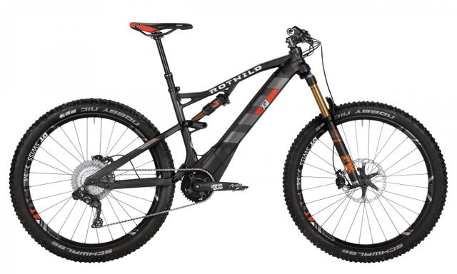 Rotwild Mountainbike - All-Mountain R.X+ FS 27.5 E-MTB - EVO (2017)