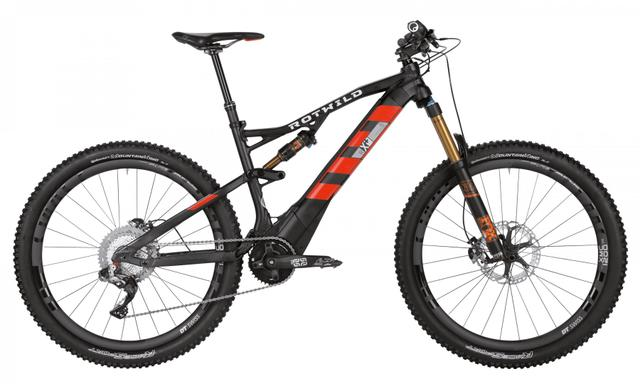 Rotwild Mountainbike - All-Mountain R.X+ FS 27.5 E-MTB - TEAM (2017)