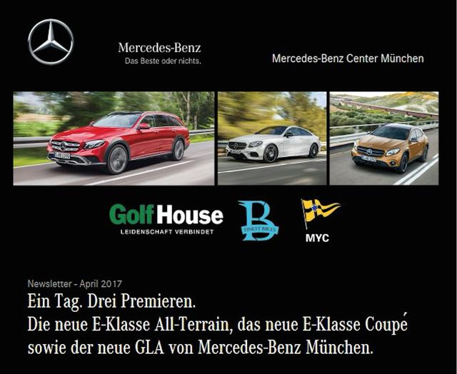 Mercedes Premieren 2017