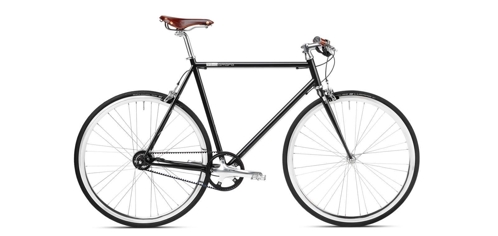 Mika Amaro Sapphire Black 8-Gang Urban Bike