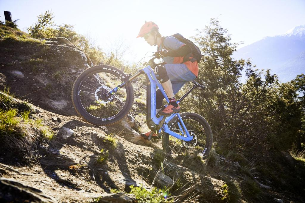 Bildergebnis für e-mountainbike in Aktion