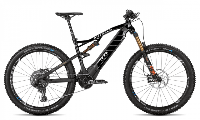 Rotwild E-Mountainbike - All-Mountain R.X+ Full Suspension - Traction Ultra (2018)