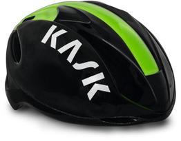 Kask Rennradhelm Infinity schwarz / grün, Beispielbilder, ggf. teilweise mit Sonderausstattung