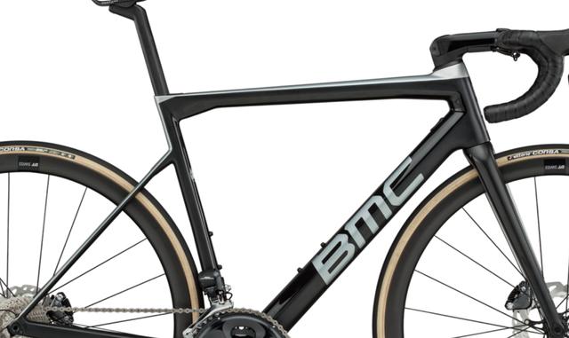 BMC Teammachine Frameset in neuer Farbe.