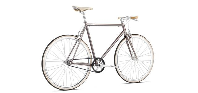 mika amaro custom grey - singlespeed Limited Edition - Single Speed Urban Bike