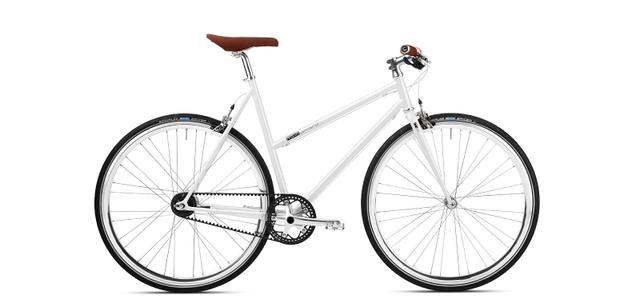 mika amaro pearly white - 7 Speed Woman Limited Edition -