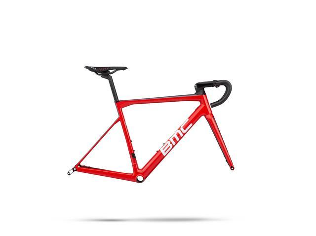 BMC Rennrad Altitude-Series Teammachine SLR01 - Disc MODULE (2019) Größe: 54, Farbe: rot weiss carbon, sofort lieferbar