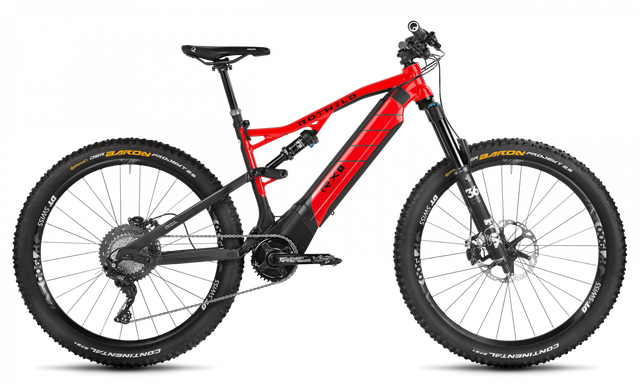 Rotwild E-Mountainbike - All-Mountain R.X+ Full Suspension - Trail PRO 27,5er (2019)