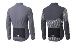PEdAL ED Jacken      Hikari Reflective Shell Größe XL, grau, sofort verfügbar.