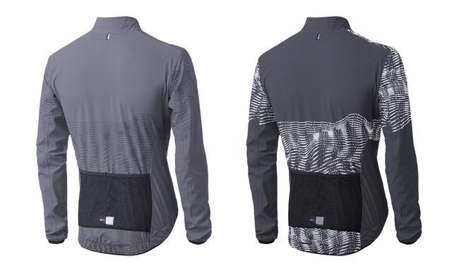 PEdAL ED Jacken - Hikari Reflective Shell Größe XL, grau, sofort verfügbar.