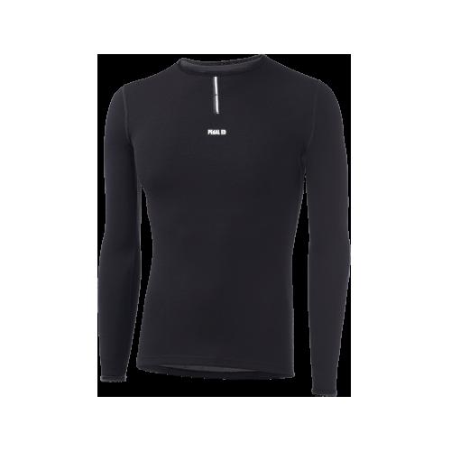 PEdAL ED Baselayer - Merino Long Sleeve Größe L, schwarz, sofort verfügbar.