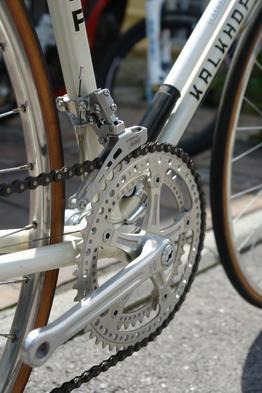 Kalkhoff Rennrad mit wunderschöner Kurbelgarnitur, Beispielbilder, ggf. teilweise mit Sonderausstattung