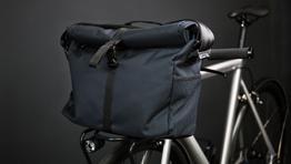 Ganove - Fahrradtasche für den Frontgepäckträger von Schindelhauer