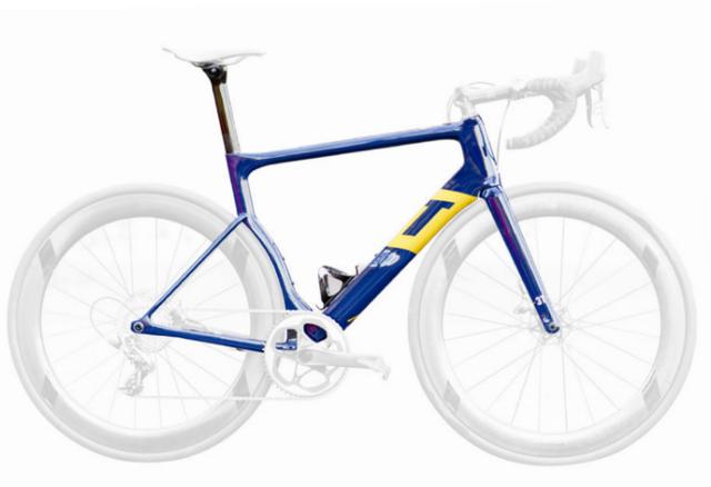 3T Rennrad – Strada - TEAM - Aqua Blue Sport mit SRAM Force1 Built-Kit