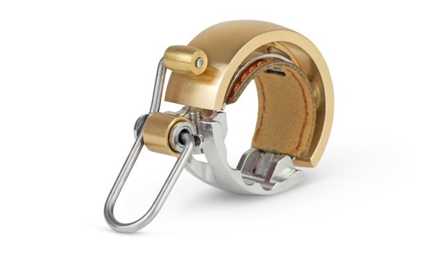 Knog Fahrradklingel Oi - Luxe Größe S, gold