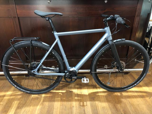 Desiknio Pinion Electric Bike - URBAN TOURER Größe M, irongrey