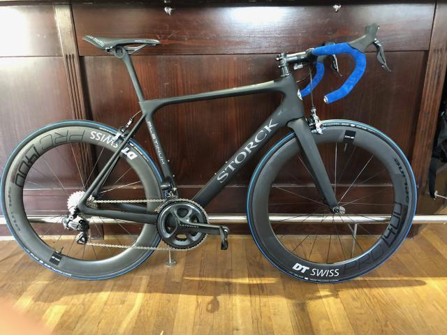 Storck Rennrad - Fascenario 3 PLATINUM G1 - Ultegra Di2 Größe M sofort verfügbar mit DT Swiss PRC1400/65mm Laufradsatz