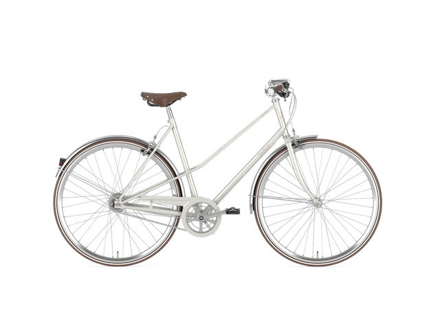 Gazelle Urban-Bike - Van Stael - 7-Gang Damenrad 2019/2020 Größe 55, ivory white (weiss)