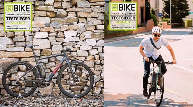 BMC E-Bikes 2x Testsieger