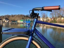 Schindelhauer Gustav - tiefseeblau - Zahnriemenfahrrad - Urban Bike, Beispielbilder, ggf. teilweise mit Sonderausstattung