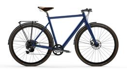 Desiknio 11S Classic – Indigo Blue – Hydroformed Aluminium Fork – Brooks C17 Imperial Brown – Panaracer Gravel King 40-622 - Anzeige im Konfigurator, Beispielbilder, ggf. teilweise mit Sonderausstattung