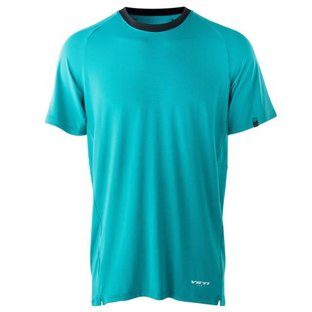 YETI Bekleidung - Turq Air Short-Sleeve Jersey - Kurzarm-Trikot Größe L, sofort verfügbar.