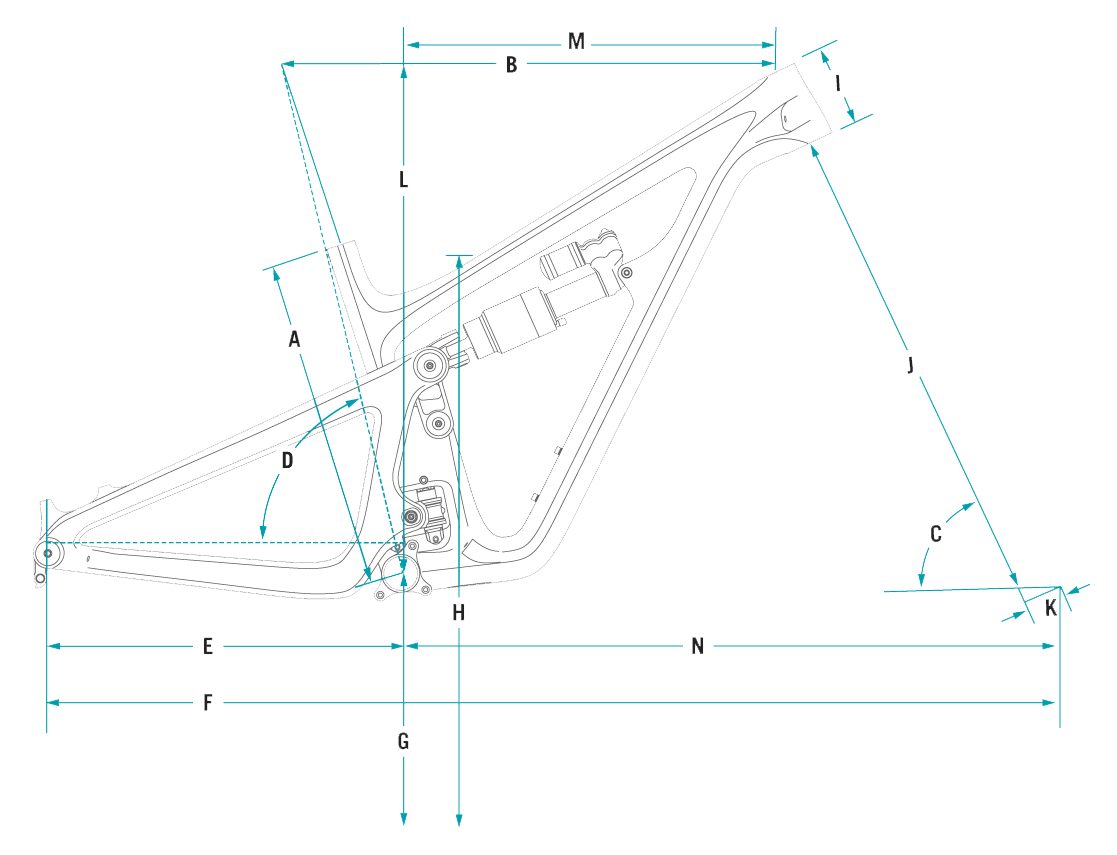 Geometrie Yeti SB150