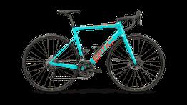 BMC Teammachine SLR FOUR - Rennrad - Modelljahr 2021 Farbe: True Blue & Neon Red, Beispielbilder, ggf. teilweise mit Sonderausstattung