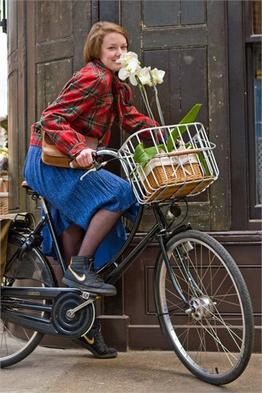 Brooks Fahrradkorb Hoxton, Beispielbilder, ggf. teilweise mit Sonderausstattung