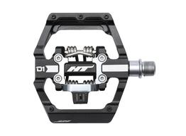 HT Components Pedale      D1 Duo - Plattform-Klick-Pedal schwarz