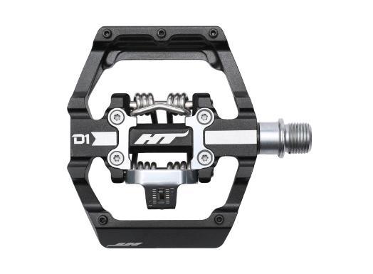HT Components Pedale - D1 Duo - Plattform-Klick-Pedal schwarz