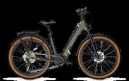 Kalkhoff Elektrofahrrad - Trekking Entice      5.B. Adcvance  Damenrad (Tiefeinsteiger) 2021 Größe S, urban green, sofort verfügbar!